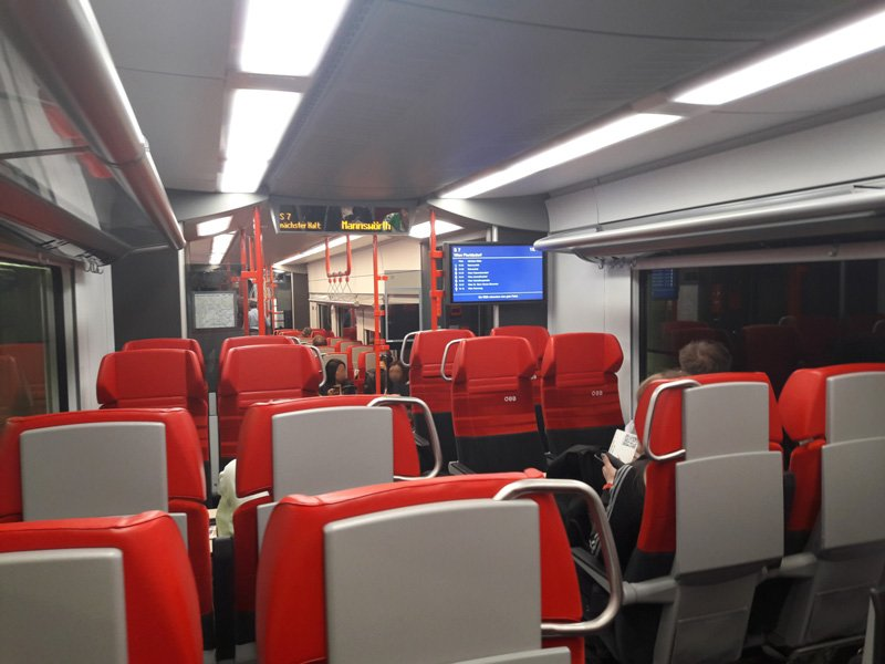 Салон поездов ÖBB 4744 Cityjet