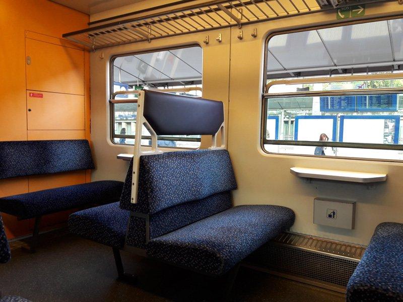 В салоне поездов  ÖBB Class 4020