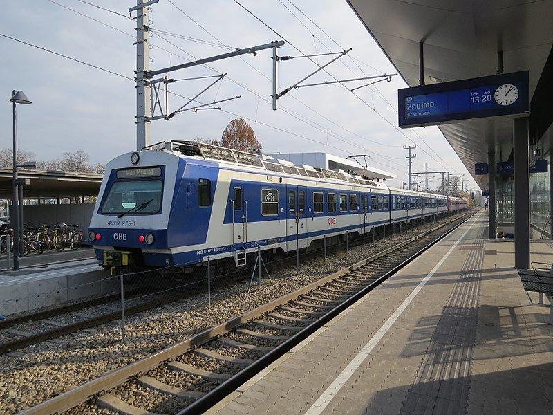Поезда ÖBB Class 4020, 1978-1987 годов выпуска, используются на региональных линиях Австрии, в том числе и на линиях Vienna S-Bahn