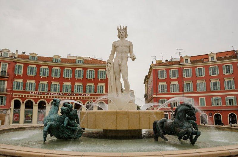 фонтан дю Солей