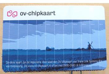 OV-Chip Card Credit для оплаты проезда на всей территории Нидерландов