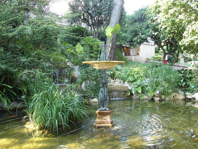 Сады Святого Мартина в Монако