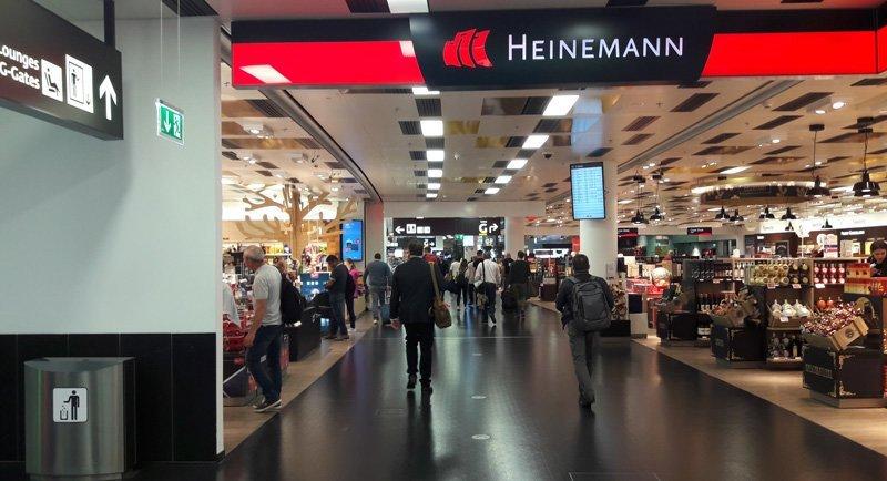 Магазин Duty-free Heinemann