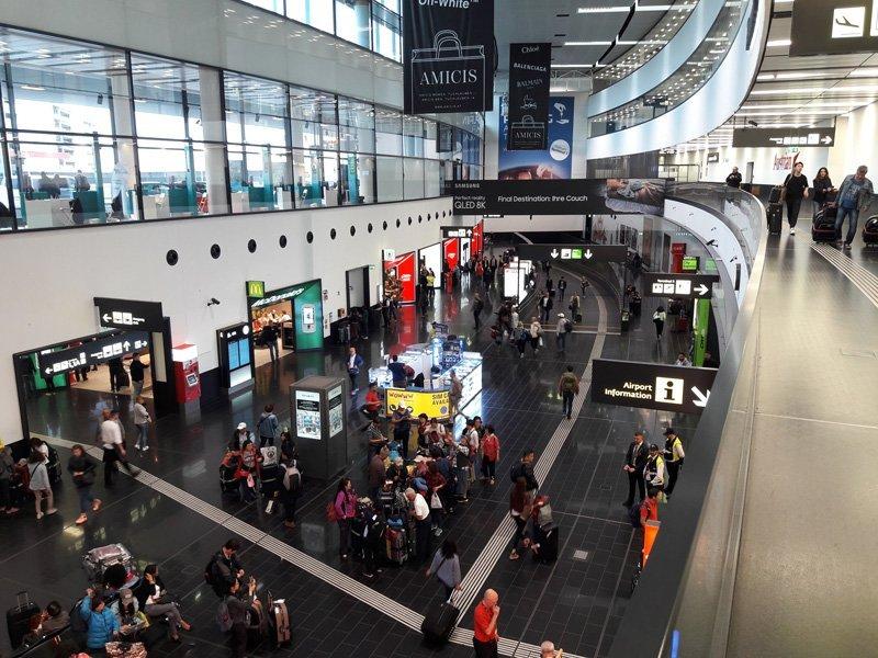 Терминал 3 в аэропорту Вены