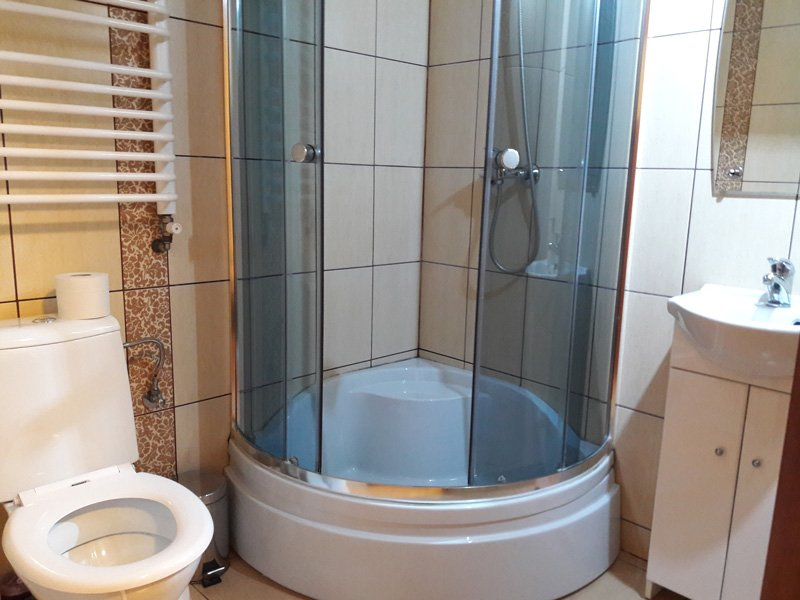 Ванная комната в Noclegi Alda