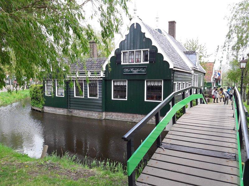 Деревянные домики XVII - XVIII века
