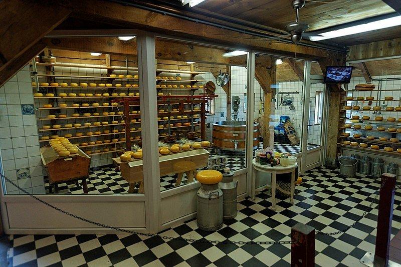 сырная ферма Catharina Hoeve Cheese Farm