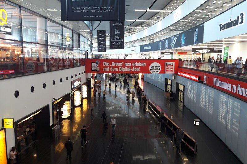 Как ориентироваться в аэропорту Вены