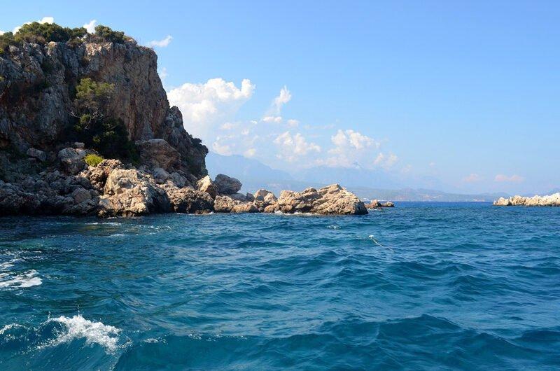 Турция/Кемер. Отель на берегу моря в центре города €584 за двоих на 7 дней. Все включено