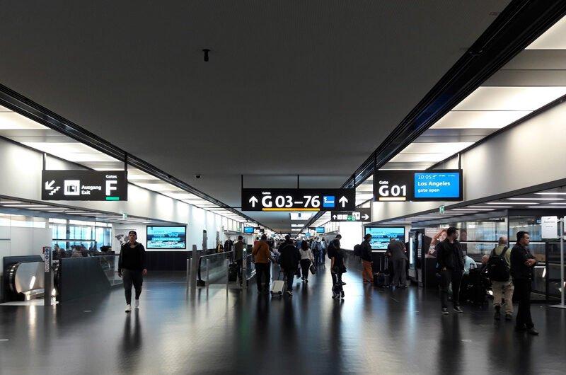 Пересадка в аэропорту Вены. Как все происходит