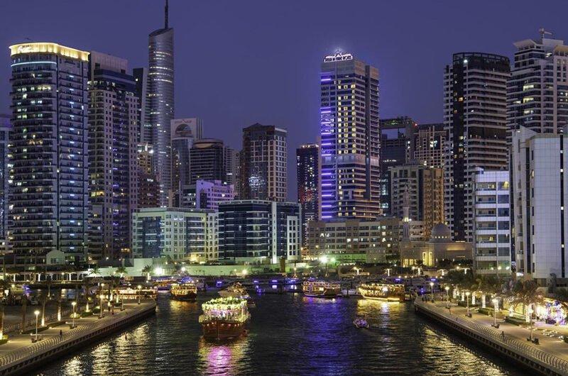 Пятизвездочный отель в районе Дубай Марина