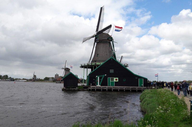 Окрестности Амстердама. Деревня Зансе-Сханс(Zaanse Schans)